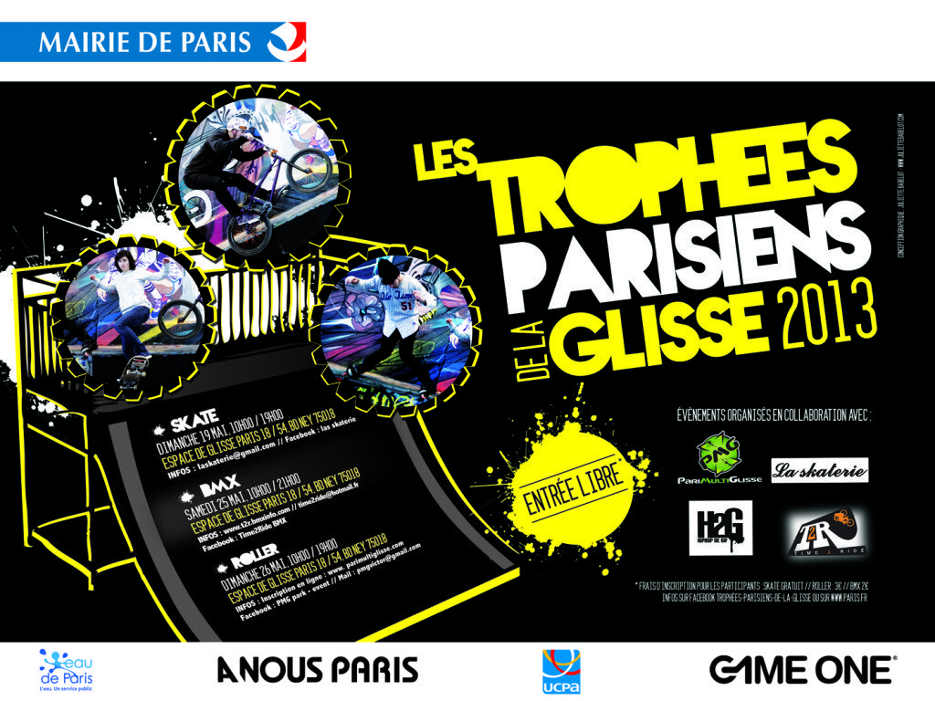 Edition evenement Mairie de Paris graphiste freelance