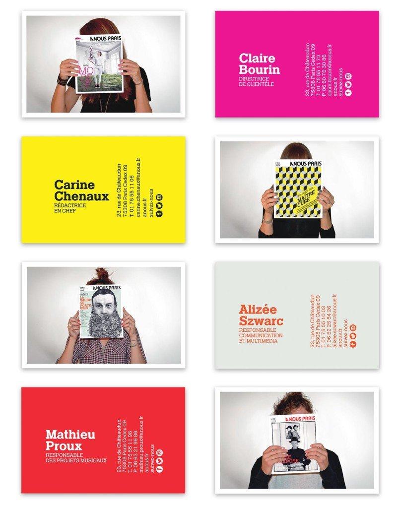 graphiste freelance cartes de visite
