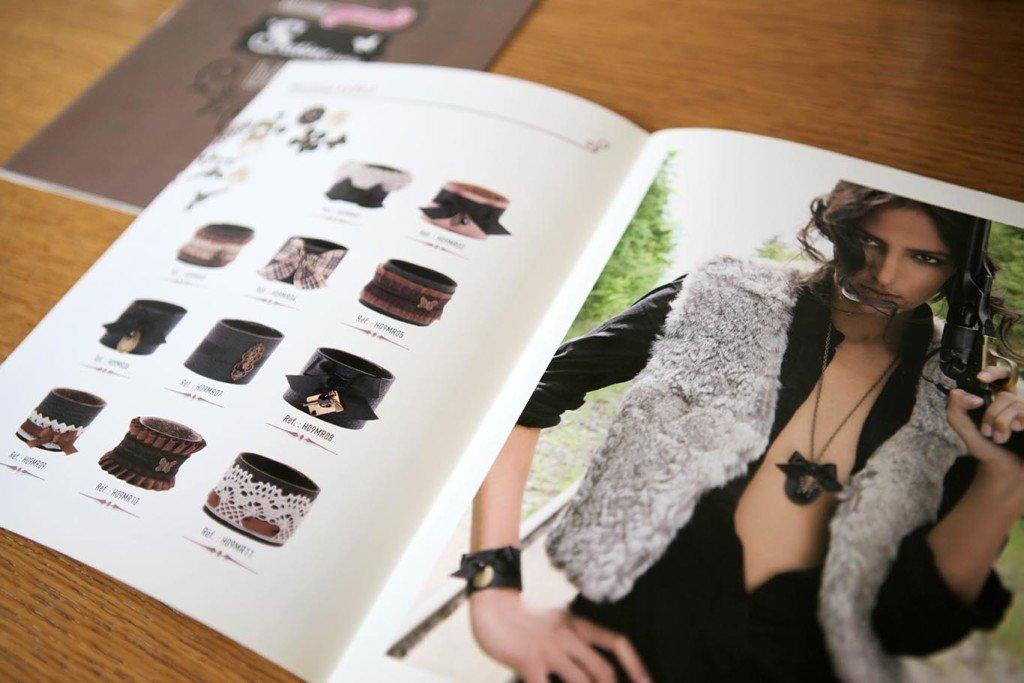 graphiste créer catalogue produits
