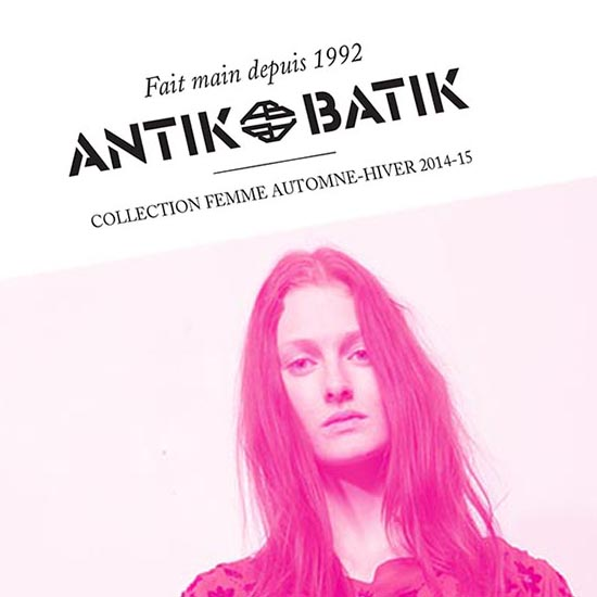 catalogue Antik Batik graphiste